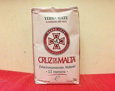Yerba Mate Cruz de Malta 1kg or 2.2 lbs: Argentina