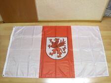 Fahnen Flagge Westpommern Woiwodschaft Polen Digitaldruck - 90 x 150 cm