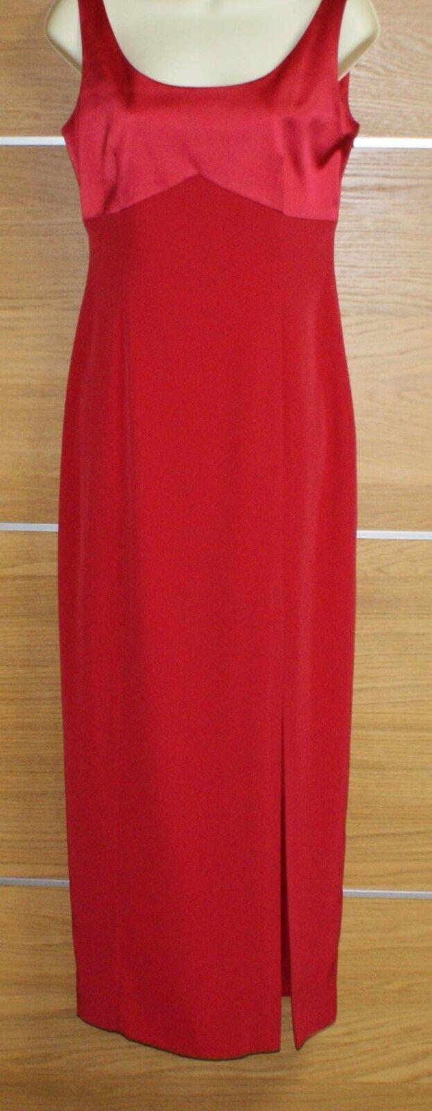 Vestido De ELLIS Fiesta SIMON ELLIS De ocasiones Rojo Talla 10 bff788