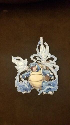 "Pokemon Sticker Blastoise large Decal 9/"""