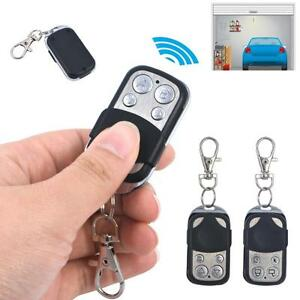 4 Button Cloning 433mhz Electric Garage Door Remote Control Key Fob Universal WT