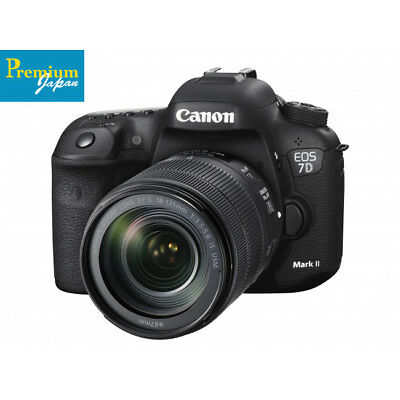 Canon EOS 7D Mark II EF-S18-135mm IS Lens Kit Camera Japan Domestic Version New