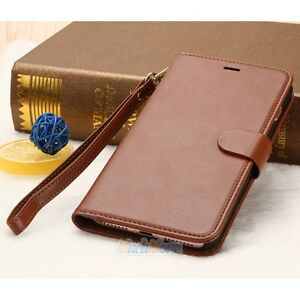 e9fb1edb149 For Apple iPhone 7/7 Plus Luxury Flip Cover Wallet Card Leather ...