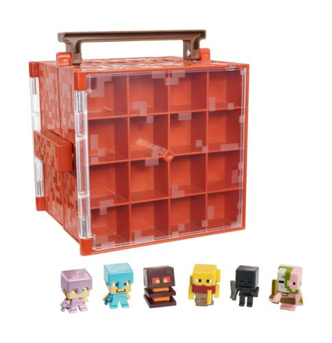 Minecraft Mini-Figure Nether Collector Case Accessory Free Shipping
