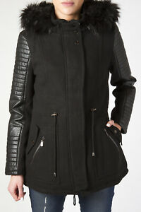 Cappotto Yes Zee con cappuccio e zip