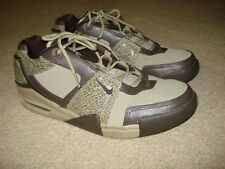 on sale 0ab62 5e508 ... 2008 Nike Air Force Formidable Low Snakeskin Rare Mens Brown Sneakers  Size 12 ...
