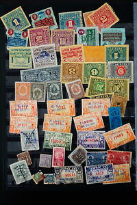 World-Revenue-Stamp-Collection-Lot-of-1-000