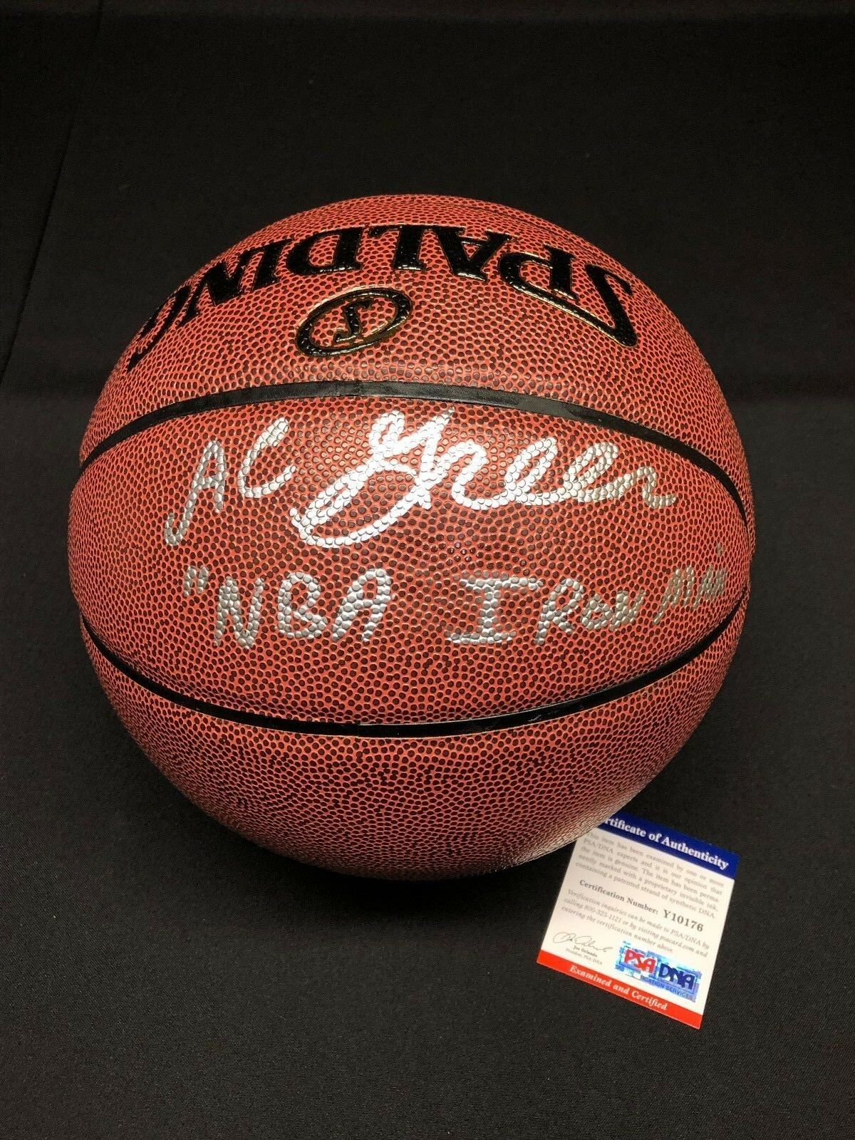 AC A.C. Green Signed Spalding I/O Basketball