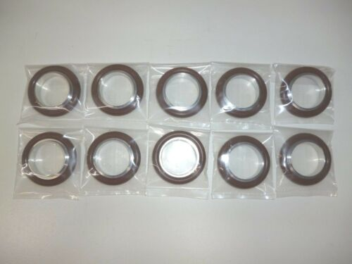 Lot of 10 KF25 Centering Ring S.S/&Viton New Vacuum Pump Flange Fitting Parts