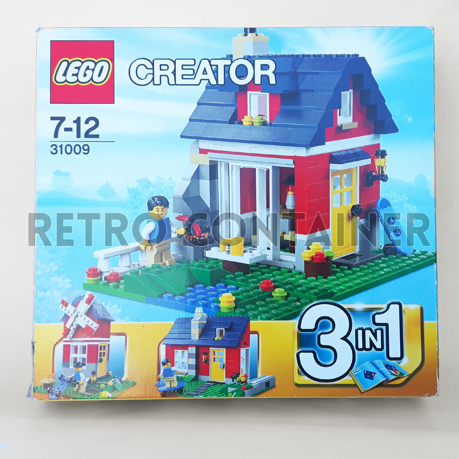 Lego 100 Complete Set 31009 Small 2103 City Town Lotto Kg Cottage