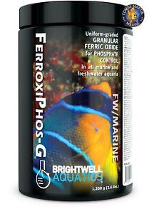 Eau douce et marine de médias de phosphate de Ferroxiphos de Gfo de Brightwell Aquatics Gfo
