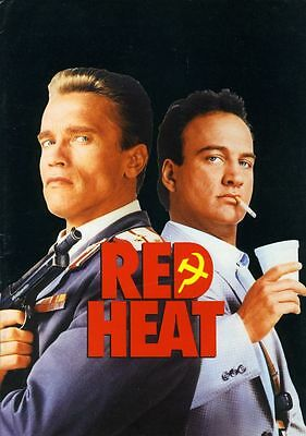Filme & Dvds GüNstig Einkaufen Red Heat Original Presseheft Arnold Schwarzenegger Top Den Speichel Auffrischen Und Bereichern Film-fanartikel