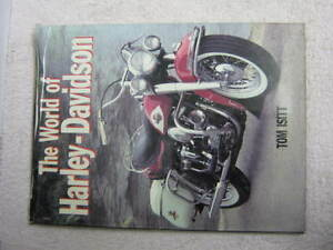 Harley-Davidson-The-World-of-HD-1995-Hardback-large-reference-book