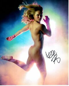 Image Is Loading Ronda Rousey Signed Nude Espn Body Issue Photo