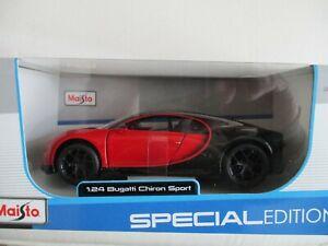 Offerta Maisto Bugatti Chiron Sport 1:24