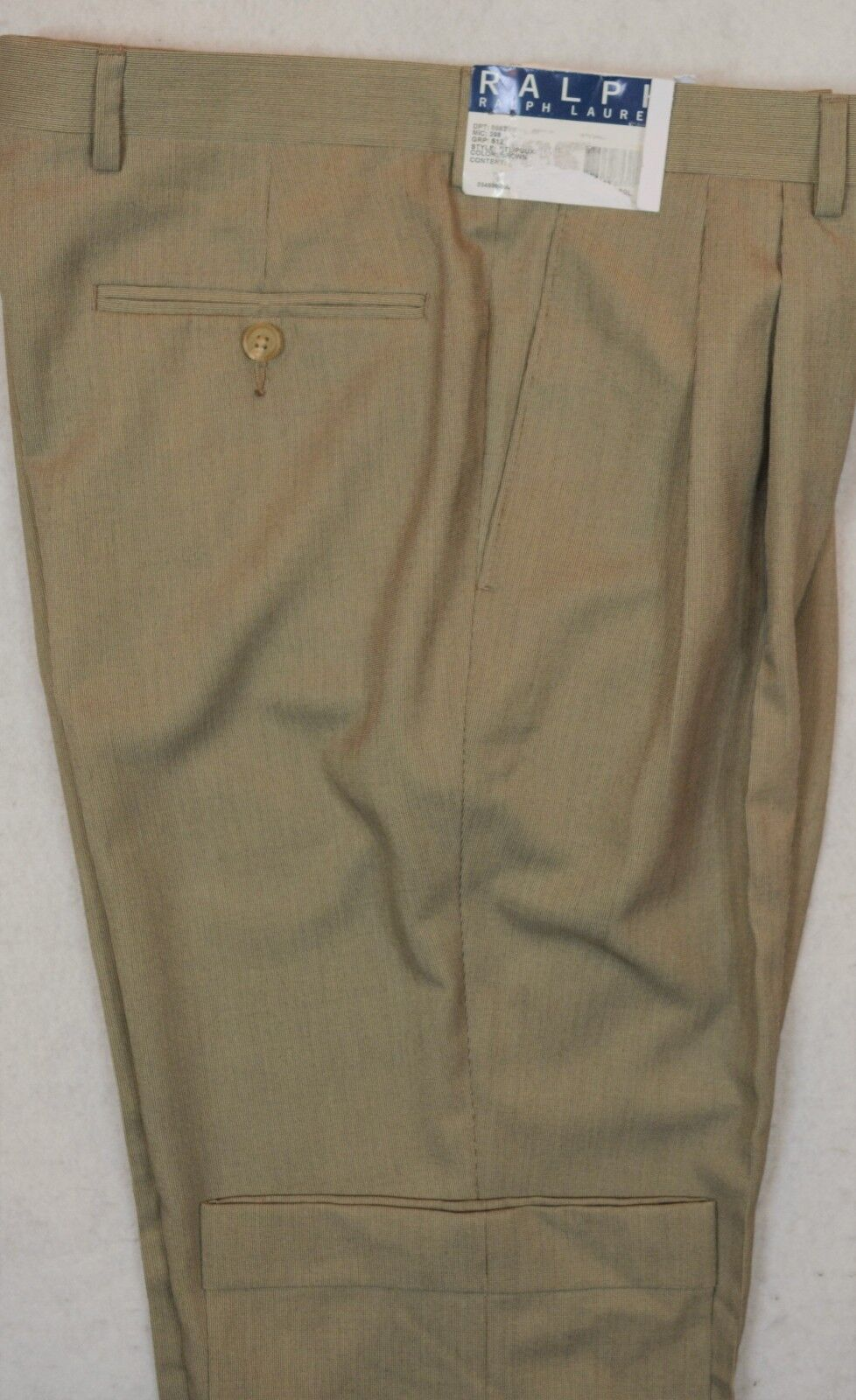 Ralph Lauren Modern Fit Brown Dress Pant Size 34 30 NWT