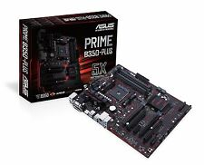 Asus Prime PRIME B350-PLUS Desktop Motherboard - AMD B350 Chipset - Socket AM4
