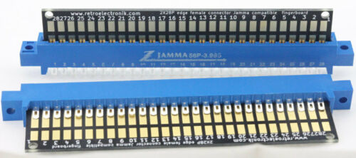 Lotto 10X Pettine Jamma Tastiera 2X28p 56 Spilla Plaque-Or