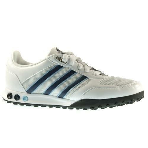 Hombre Adidas la Competición Run Zapatillas blancoas G13205