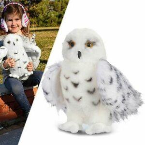 Wizard-SNOWY-OWL-Plush-Toy-Stuffed-Animal-Hedwig-Potter-owl-8-034-12-039-039-Xmas-Gift