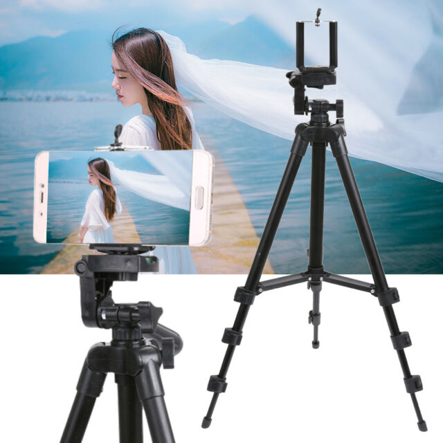 huge selection of ac5a6 02e71 Universal Pro Camera Tripod Stand Holder for Smart Phone iPhone 6s 6  Samsung US