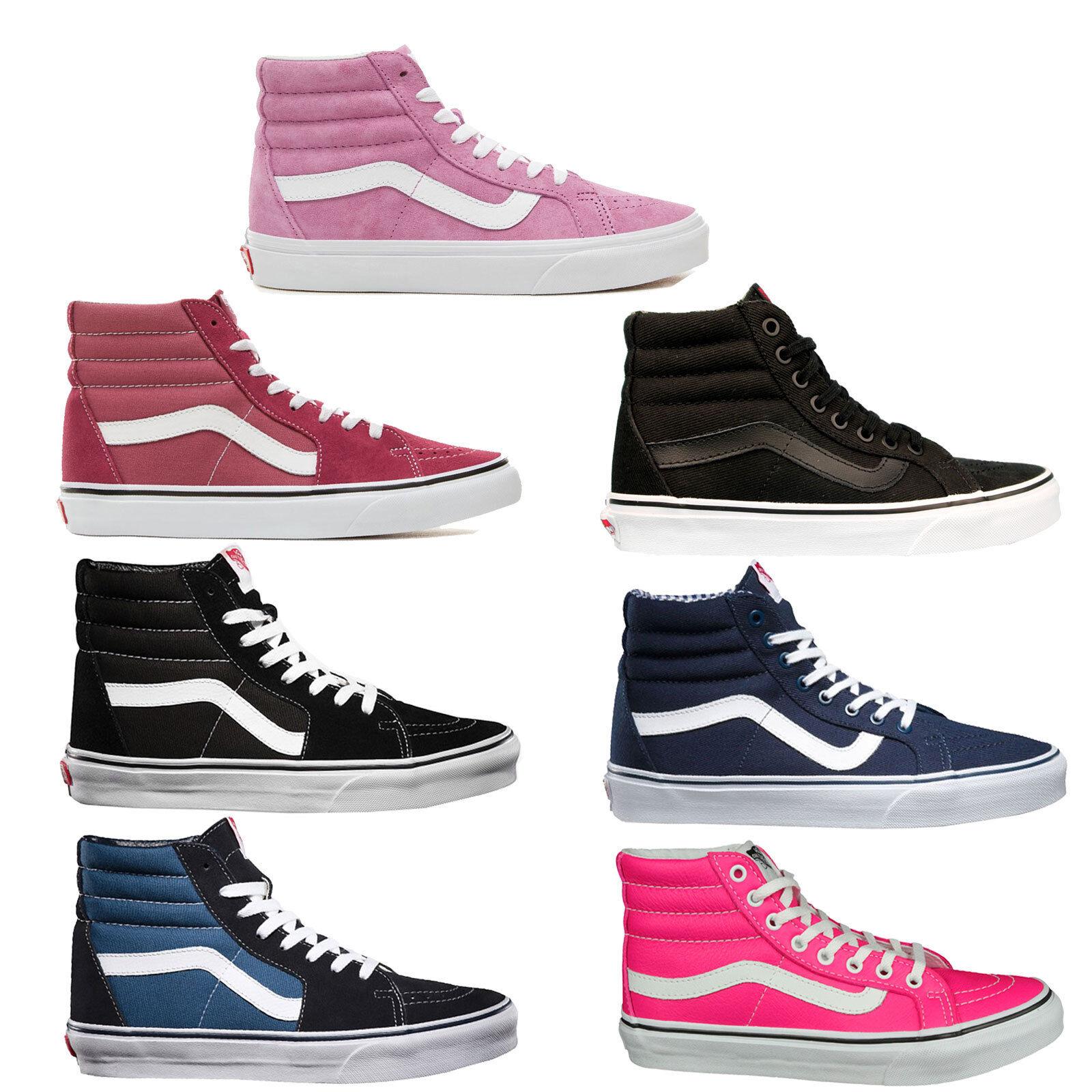Vans sk8-hi sk8-hi sk8-hi Donna-scarpe da ginnastica skate-Hi Scarpe Alla Caviglia Scarpe Scarpe Da Skate Tempo Libero Nuovo | Resistenza Forte Da Calore E Resistente  | Scolaro/Ragazze Scarpa  023e62
