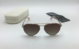 f317a8aad Marc Jacobs Men's 240/S Polarized Aviator Sunglasses, Brown Gradient ...
