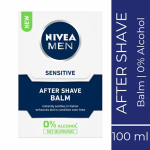 Nivea-For-Men-Sensitive-After-Shave-Balm-100ml-Comfortable-amp-Smooth-Feel-Skin