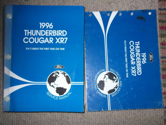 1996 Ford Thunderbird Mercury Cougar Xr