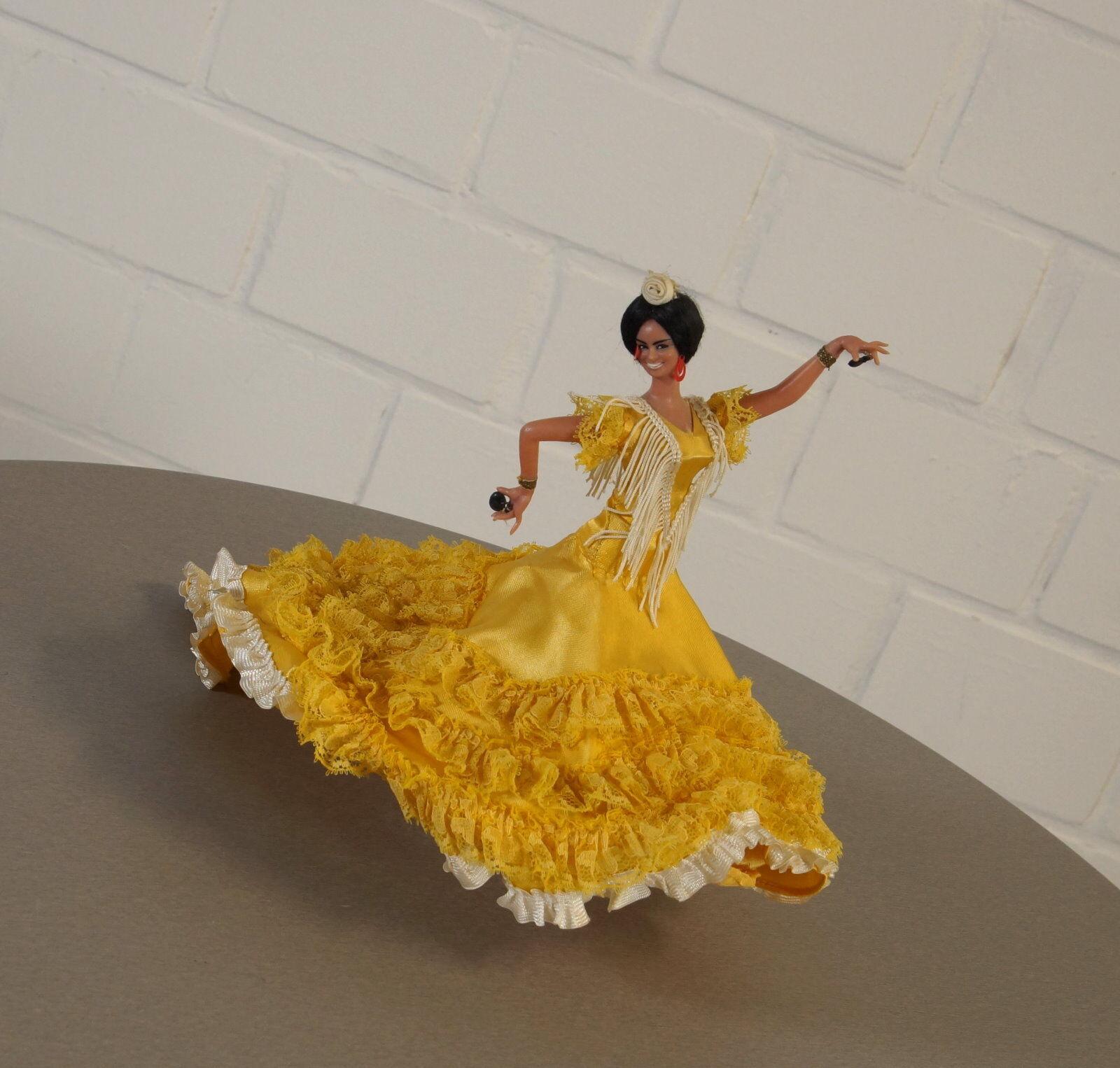 RARA ELEGANTE DA COLLEZIONE BAMBOLA Flamenco  Btuttierina Vintage 50er 60er anni Spagna RAR  negozio online