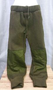 Canadian-Forces-Army-Fleece-Pants-Sz-6734-Waist-34-Combat-Sweatpants-IECS