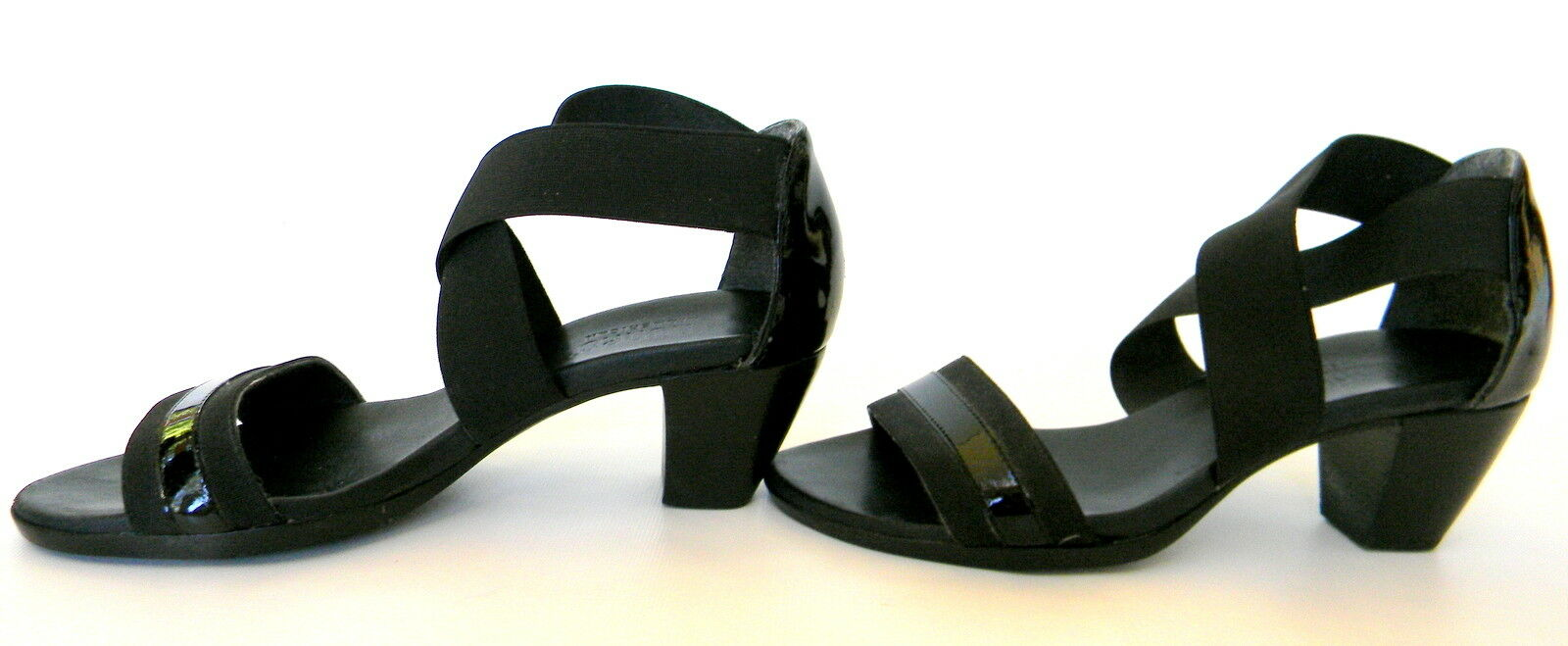Munro Delana Womens Black Strappy Sandal Size 6m