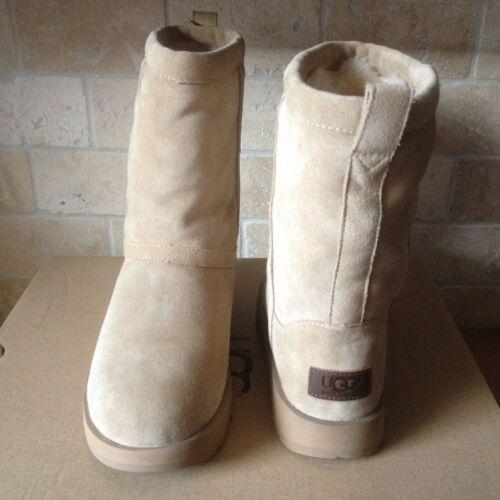de imperméables de classiques en peau sable de daim Bottes Uggtaille nous8 5 mouton sQtrdhC