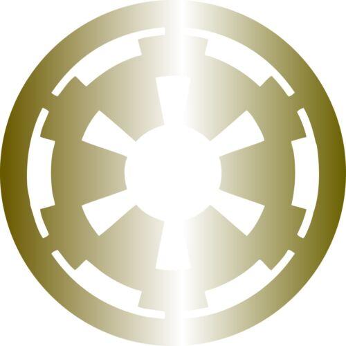 Wall Window Vehicle Star Wars Galactic Empire logo Decal Vinyl sticker display