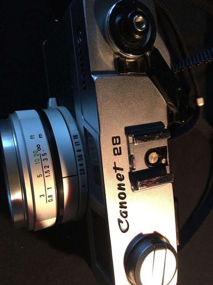 Canon, Canonet 28, God