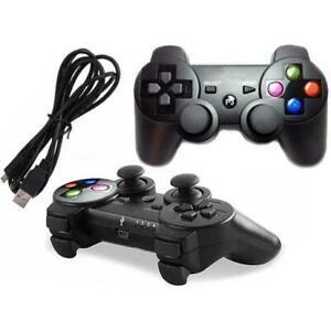 JOYSTICK-joypad-controller-COMPATIBILE-PS3-e-PC-CON-FILO-USB-WIRED-VIBRAZIONE