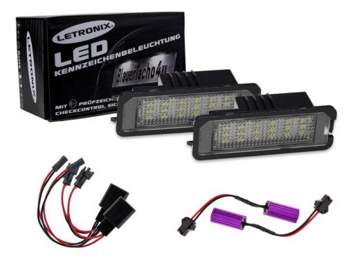 18 smd LED plaque éclairage module porsche 911//997 gt3 avec marque d/'homologation E