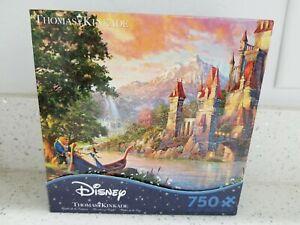 Thomas Kinkade Puzzle Disney Beauty and the Beast II ...
