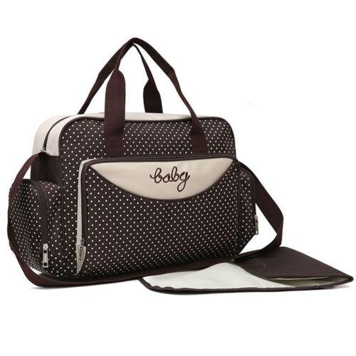 Waterproof Large Mummy Nappy Diaper Bag Baby Travel Changing Nursing Tote