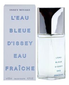 Parfum-ISSEY-MIYAKE-L-039-EAU-BLEUE-D-039-ISSEY-FRAICHE-EDT-125ML-Neuf-et-Sous-Blister