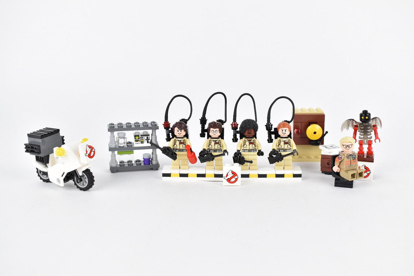 Minifiguras Lego Ghostbusters Accesorios Firehouse Alarma Escritorio de la motocicleta