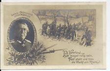 AK, Kriegskarte, General Feldmarschall Graf Haeseler, 1914