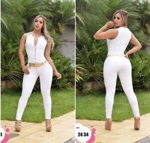 Colombian Jumpsuit-Enterizo 1//2,3//4,5//6,7//8 USA New Collection Size