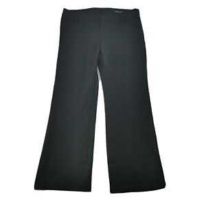 FCUK-French-Connection-14-Black-Linen-Wide-Leg-Trousers-NEW-Womens-Casual