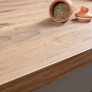 Details zu Rustikales Holz Arbeitsplatte 4100mm × 600mm × 38mm Resopal  Küchenarbeitsplatten
