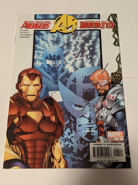 Avengers Thunderbolts #4 July 2004 Marvel Comics