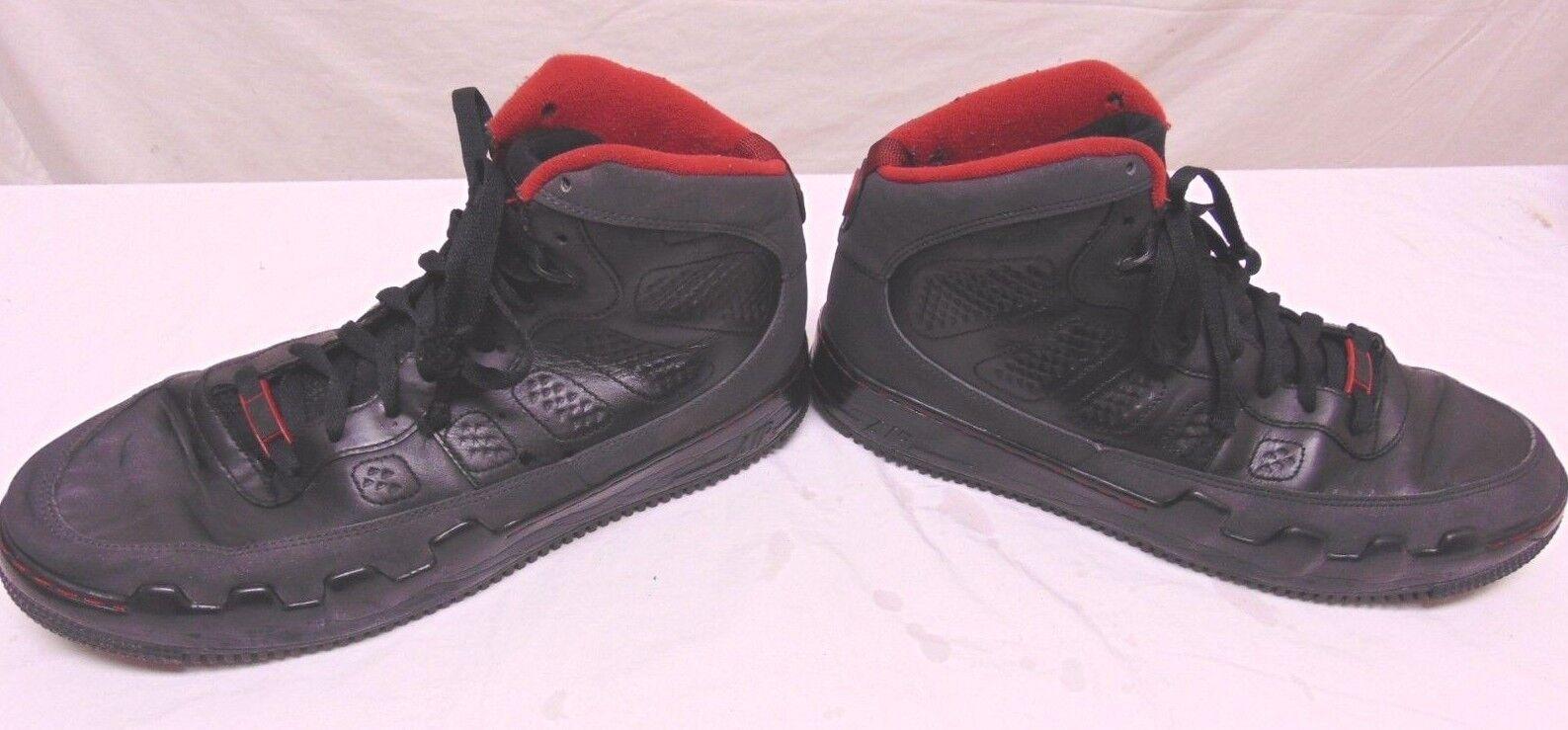 Nike Air Jordan IX 9 Retro Black Red Dark Charcoal 2009 352753-061 Size 12