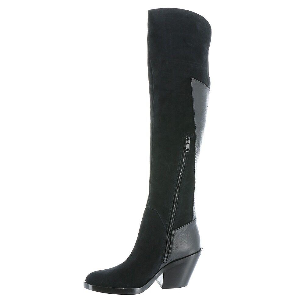Nuevo En Caja Naya Ansible sobre la rodilla botas-Negro-Tamaño botas-Negro-Tamaño botas-Negro-Tamaño 6 1e9eb6