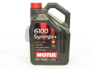 Motul-6100-Synergie-SAE-10W-40-Semi-Synthetic-Engine-Motor-Oil-5-Liter-Bottle