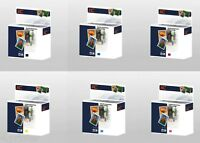 Set of 6 Ink Cartridges for HP 363 Photosmart 8238 8230 8250